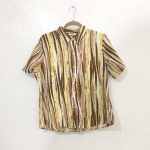 Tops - Used/ texture striped shirts